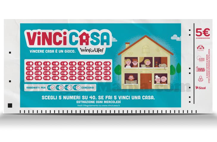Vinci casa il nuovo gioco sisal omaggiomania for Vinci una casa