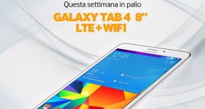 Vinci Galaxy Tab 4 con Samsung 4 Me