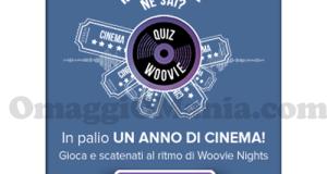 Woovie - vinci carnet di biglietti cinema