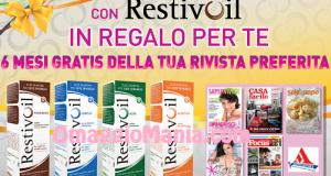 abbonamento a rivista gratis con restivoil