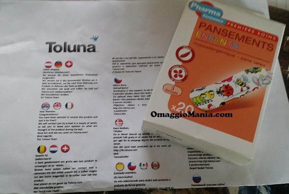 cerotti per bambini ricevuti gratis da testare da Stefania