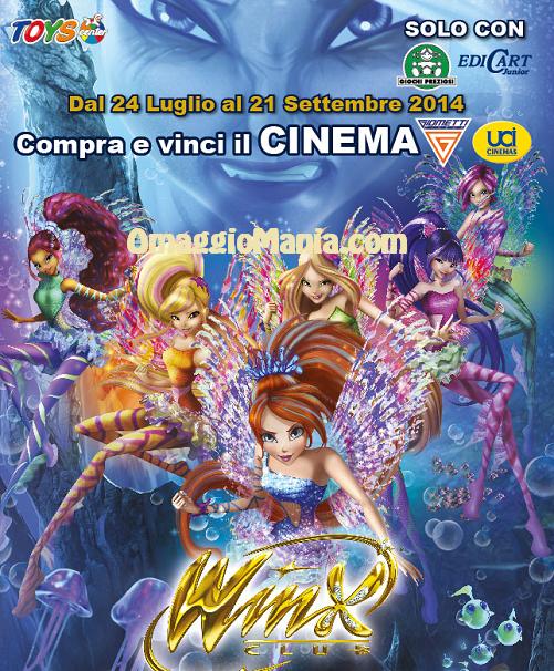 cinema gratis winx con toys center