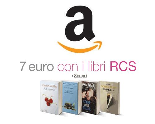 codice promozionale Amazon 7 euro con RCS