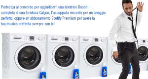 concorso a premi enjoy the wash vinci lavatrice bosch