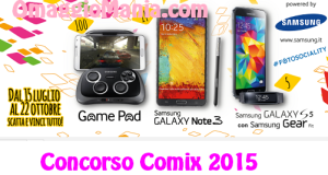 concorso comix 2015