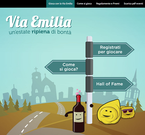 concorso via emilia e vinci weekend
