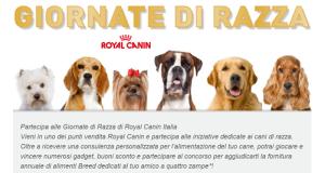 giornate di razza royal canin