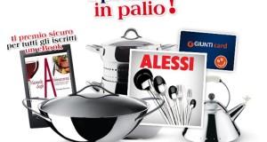 vinci prodotti Alessi o gift card Giunti