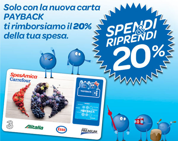 Carrefour Spendi&Riprendi 20%