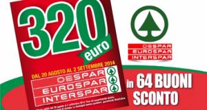 GranDespar 320 euro in buoni sconto