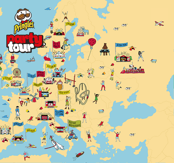 Pringles Party Tour 2014