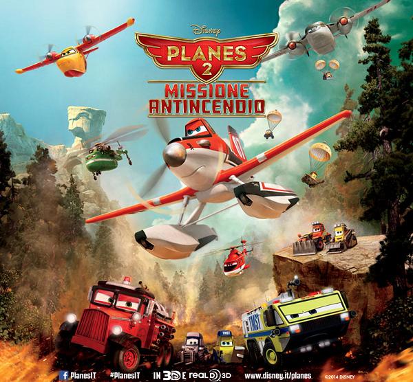 biglietti cinema omaggio Planes 2
