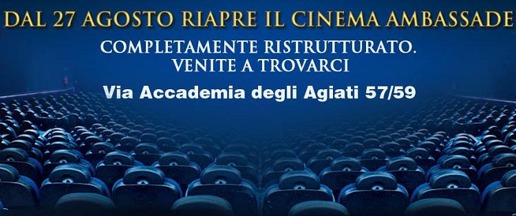 biglietti cinema gratis al Cinema Ambassade di Roma