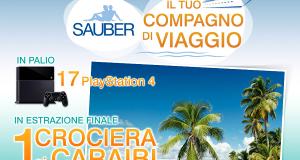 concorso a premi Sauber il tuo compagno di viaggio
