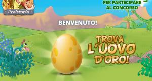 concorso a premi Trova l'uovo d'oro