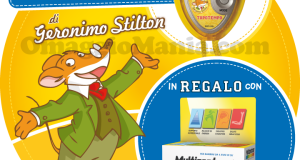 cronometro Geronimo Stilton in omaggio con Multicentrum Junior