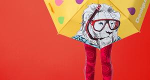 ombrello omaggio da Desigual