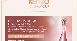 profumo Kenzo Jeu d'Amour sorpresa