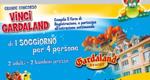 vinci Gardaland con Balocco