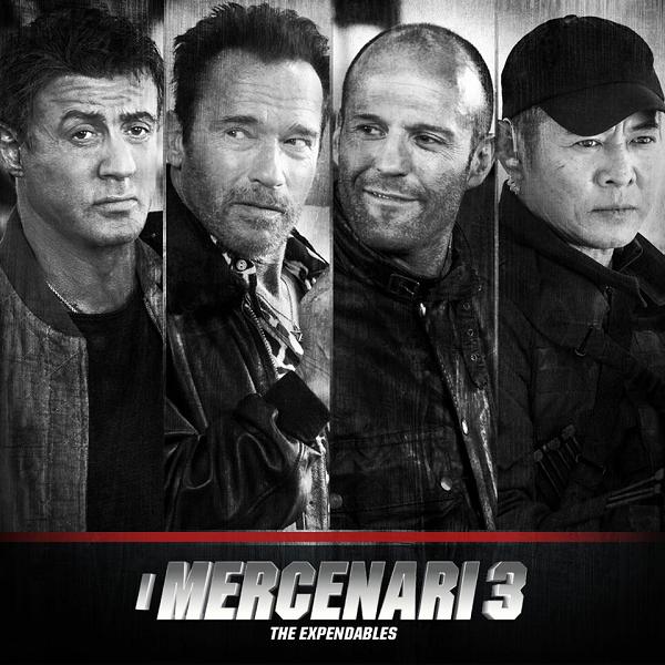vinci biglietti cinema I Mercenari 3