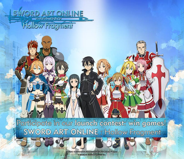 vinci gioco Sword Art Online Hollow Fragment