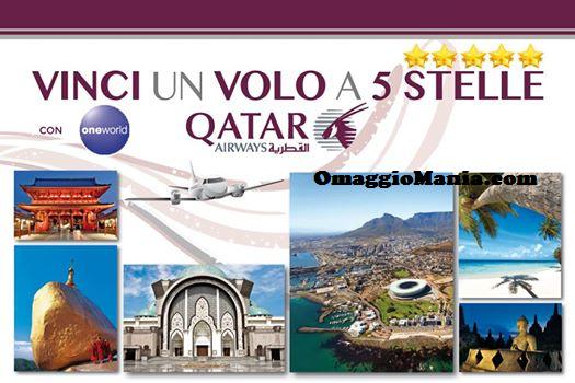 vinci volo Qatar Airways