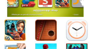 120 euro di app gratis con Amazon App-Shop