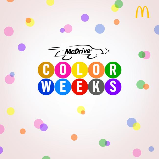 Color Weeks McDonald's McDrive