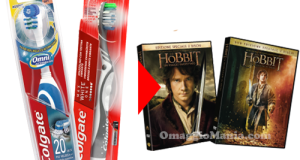 DVD Lo Hobbit omaggio con Colgate