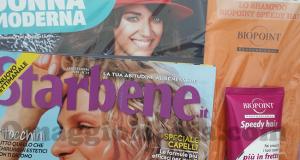 Donna Moderna, Starbene e shampoo Biopoint omaggio