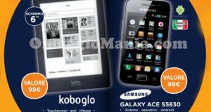 Kobo o Smartphone omaggio da Unieuro