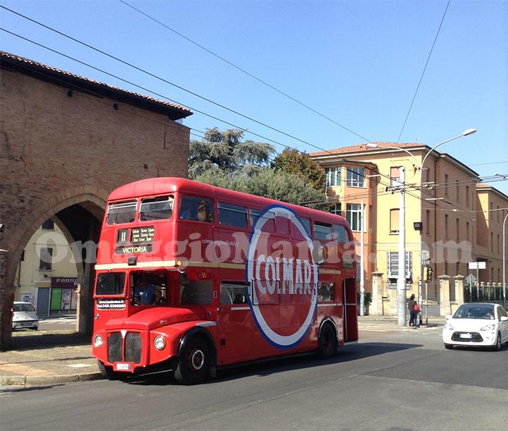 Tour bus Colmar