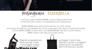 campione omaggio Black Opium Yves Saint Laurent