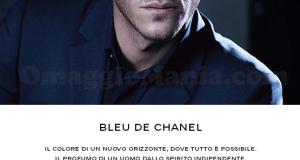 campione omaggio profumo Blue de Chanel