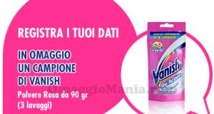 campioni omaggio Polvere Vanish Rosa