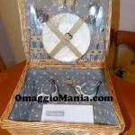 cestino picnic ricevuto da Donatella