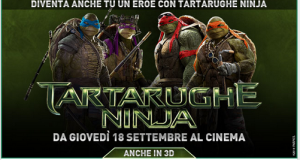 concorso a premi comingsoon tartarughe ninja