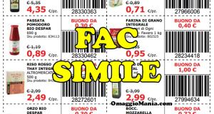 coupon Interspar da stampare