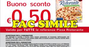 coupon Pizza Ristorante Cameo