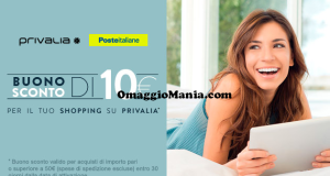 coupon Privalia con Poste Italiane