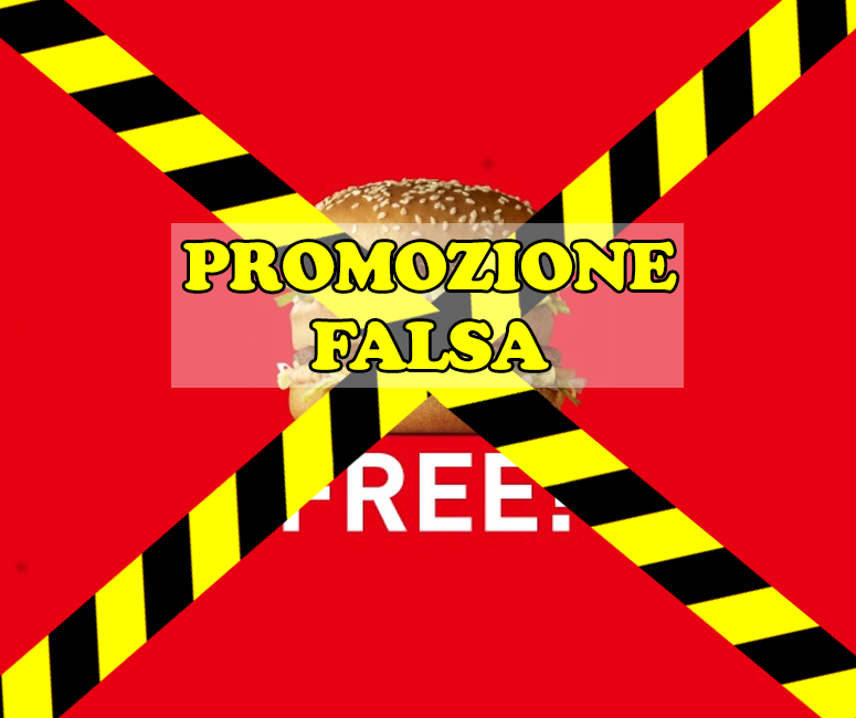 falsa iniziativa McDonald's inizio Serie A