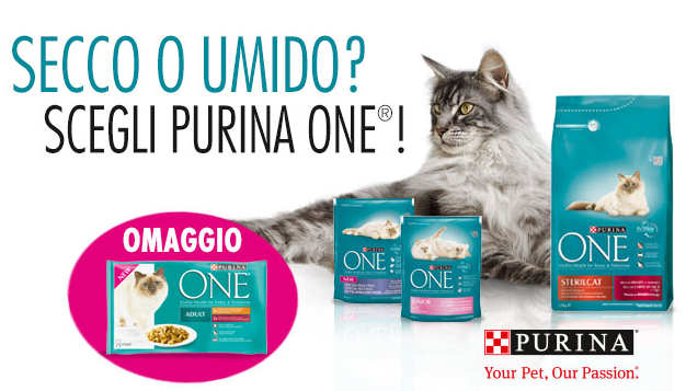 filettini Purina One omaggio da Esselungaacasa