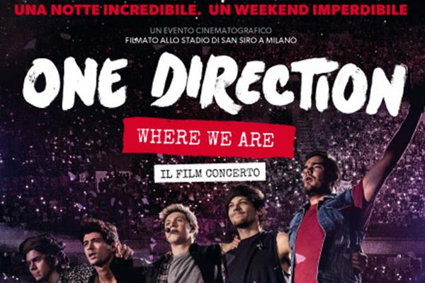 film concerto One Direction Where we are
