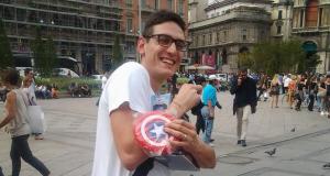 gadget Captain America a Roma