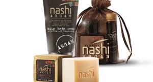 in omaggio kit di prodotti Nashi Argan