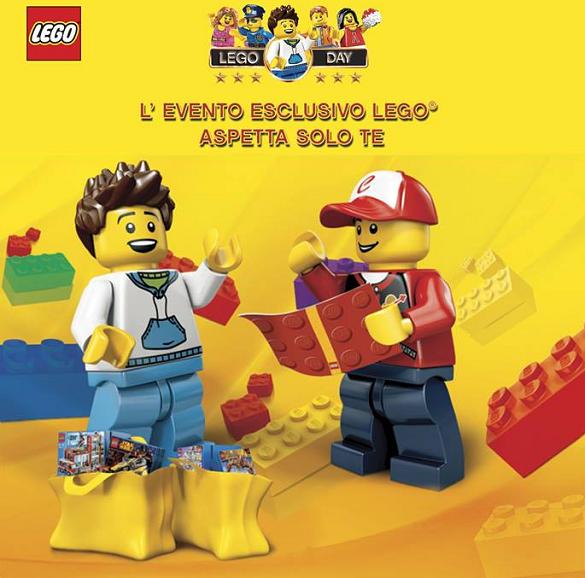 Lego day mattoncino lego omaggio omaggiomania for Cimini giocattoli roma