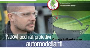 occhiali di protezione 3M SecureFit omaggio