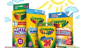 diventa tester prodotti Crayola