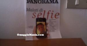 rivista Panorama ricevuta da Giorgia