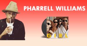 vinci vinile autografato da Pharrell Williams